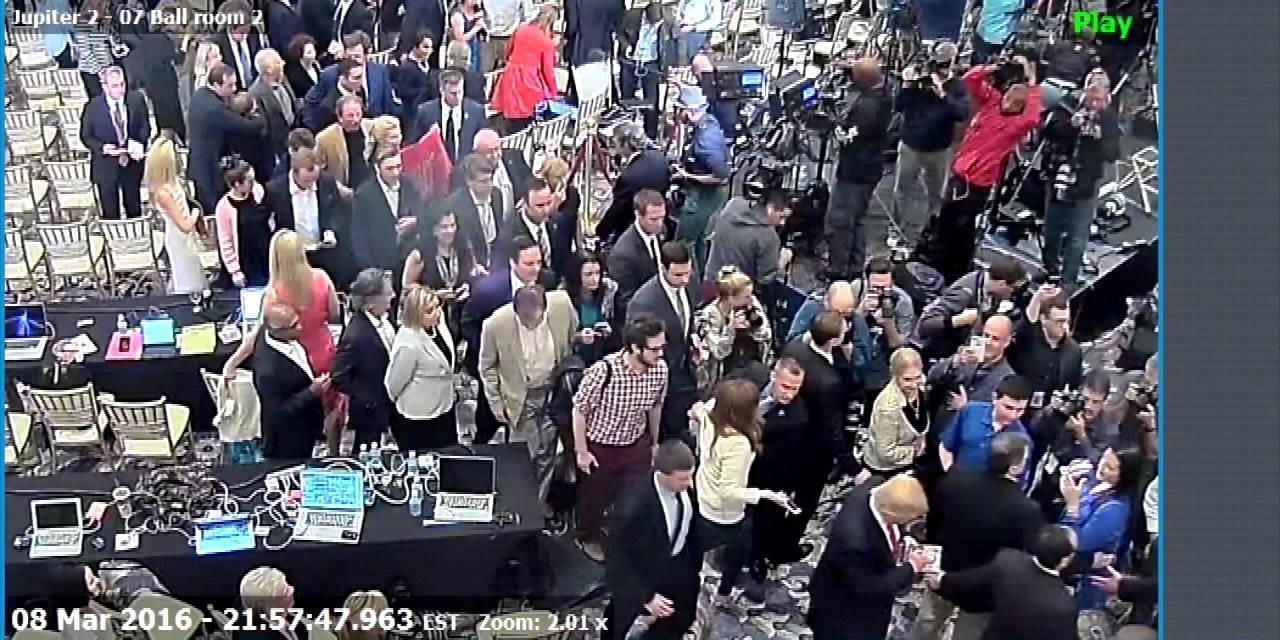 Trump Aide Corey Lewandowski Charged For Grabbing Michelle Fields