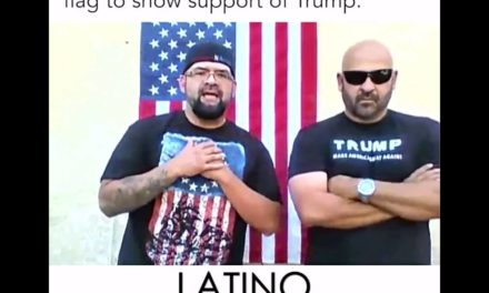 Watch: Two Mexican-Americans Burn The Mexican Flag & Support Trump