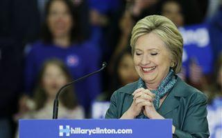 Hillary Clinton makes history, but Bernie Sanders vows to stay in the race  – 95.3 MNC News
