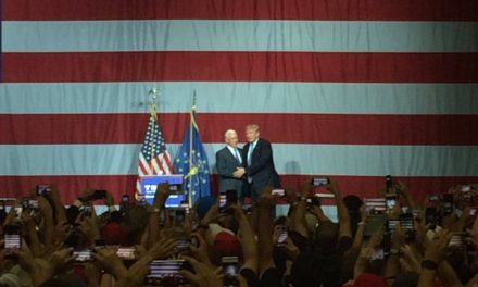 Gov. Mike Pence gives Donald Trump an enthusiastic introduction at Westfield rally  – 95.3 MNC News