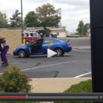 Watch: Bro Casually Orders Taco Bell While Filming Two Women Fighting