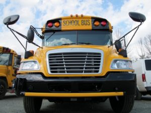 Another day of summer after school bus tires are deflated  – 95.3 MNC News