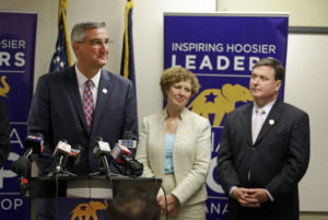 GOP's Eric Holcomb low profile in month since replacing Mike Pence  – 95.3 MNC News