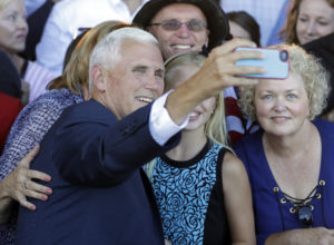 Gov. Mike Pence expected to speak at opening of Trump Indiana office  – 95.3 MNC News