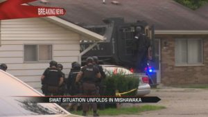 Woman hospitalized in critical condition after SWAT standoff in Mishawaka  – 95.3 MNC News