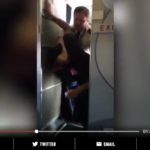 Watch: Unruly Passenger Pushes Flight Attendant, What The Pilot Does Next Is Going Viral