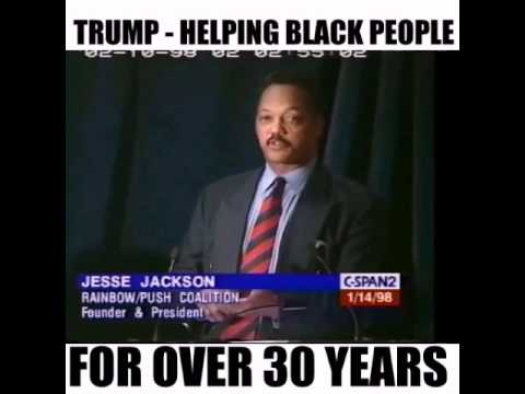 Watch: Video Montage Of Jesse Jackson Praising Trump For His Work In The Black Community