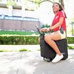 Introducing the motorised ride along suitcase – for adults