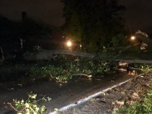 UPDATE: Small, strong storm causes havoc in South Bend  – 95.3 MNC News