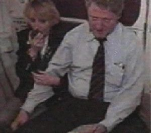 Uncovered Video: Watch Bill Clinton Grope A Woman On A Plane