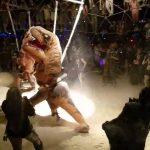 Watch: Underground T-Rex Fight Club