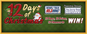 MNC's 12 Days of Christmas Contest – Enter to Win Prizes!  – 95.3 MNC News