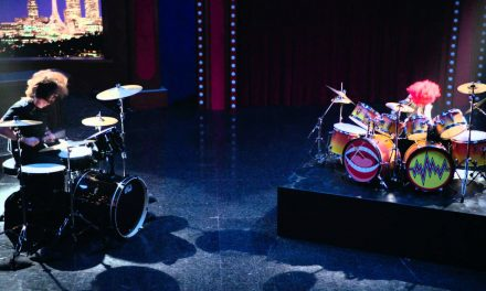 Dave Grohl And Animal From The Muppets Have A Drum Battle