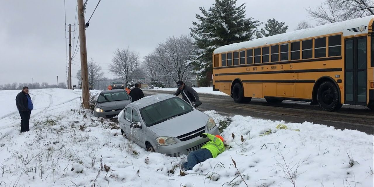 Viral Video: Comcast Xfinity Workers Cause Severe Traffic Accident, Multiple Slide Offs