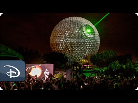 Watch: Epcot Turned Into The Death Star