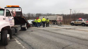 Crash claims three lives at U.S. 20 and Fail Road in LaPorte County  – 95.3 MNC News