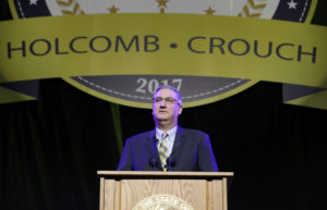 New Indiana Gov. Eric Holcomb warns state can't get complacent on economy  – 95.3 MNC News