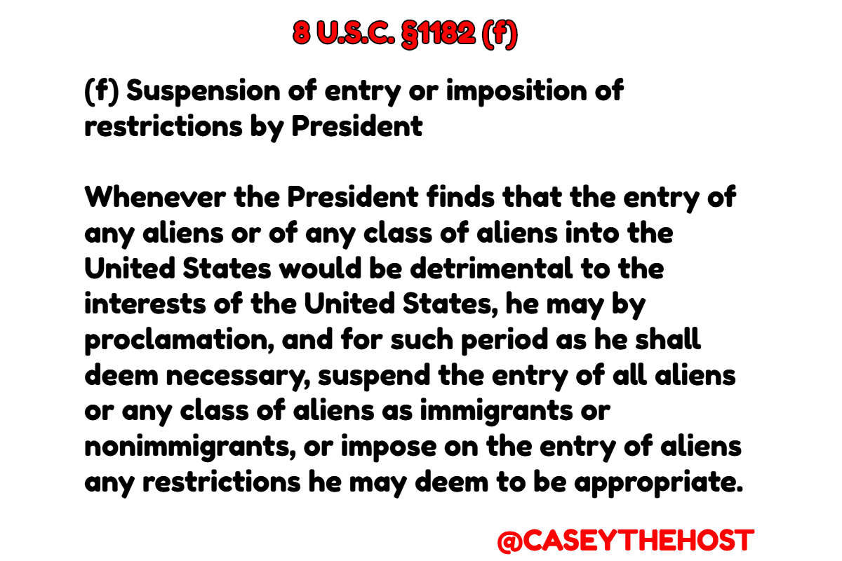 Casey Breaks Down Why Trump's Travel EO Is Legal – Podcast