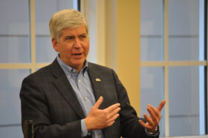 Michigan Gov. Rick Snyder says Republicans are addressing concerns on Trumpcare  – 95.3 MNC News