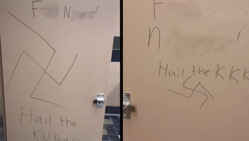 Fake Hate: Swastikas In High School Bathroom Not Done By White Student