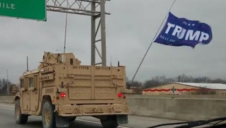 Navy SEALs Punished For Displaying Trump Flag On Vehicle
