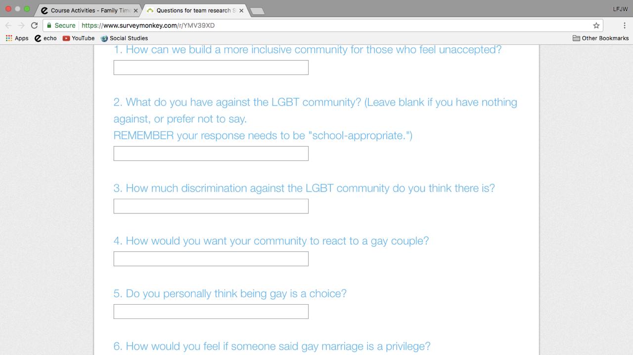 Exclusive: Goshen Teacher's LGBTQ Survey Causing A Stir