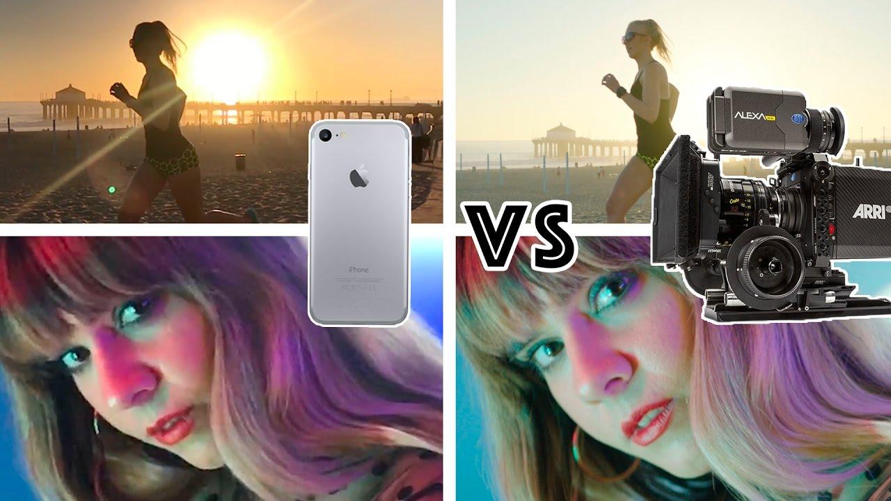 IPhone 7 Camera vs $90,000 Hollywood Camera