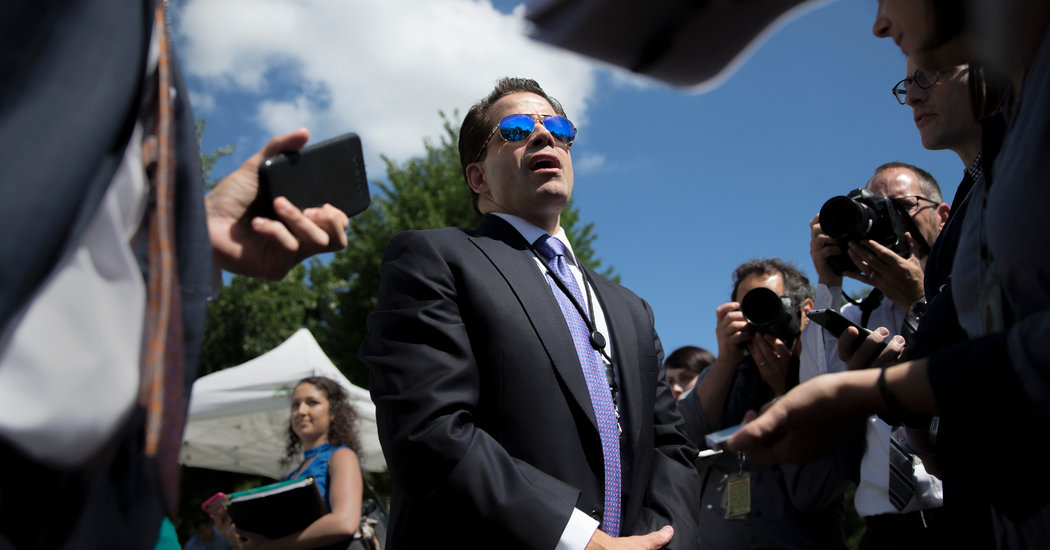 Anthony Scaramucci Out As Communications Director Already